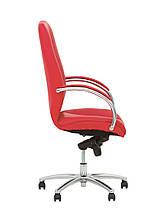 Кресло Formula Steel Chrome Кожа Люкс Красная (Новый Стиль ТМ), фото 2