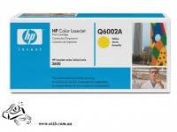 Картридж HP CLJ 1600/2600 Q6002A yellow