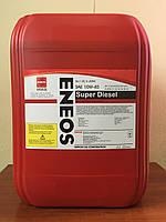 Моторное масло всесезонное ENEOS SUPER DIESEL API CG-4 10W-40 Semi-synthetic