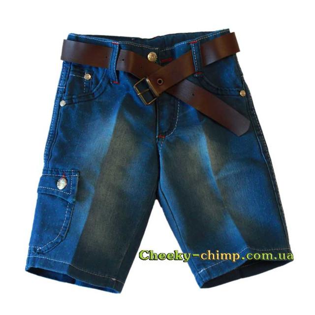 Шорты на мальчика джинсовые в Точку