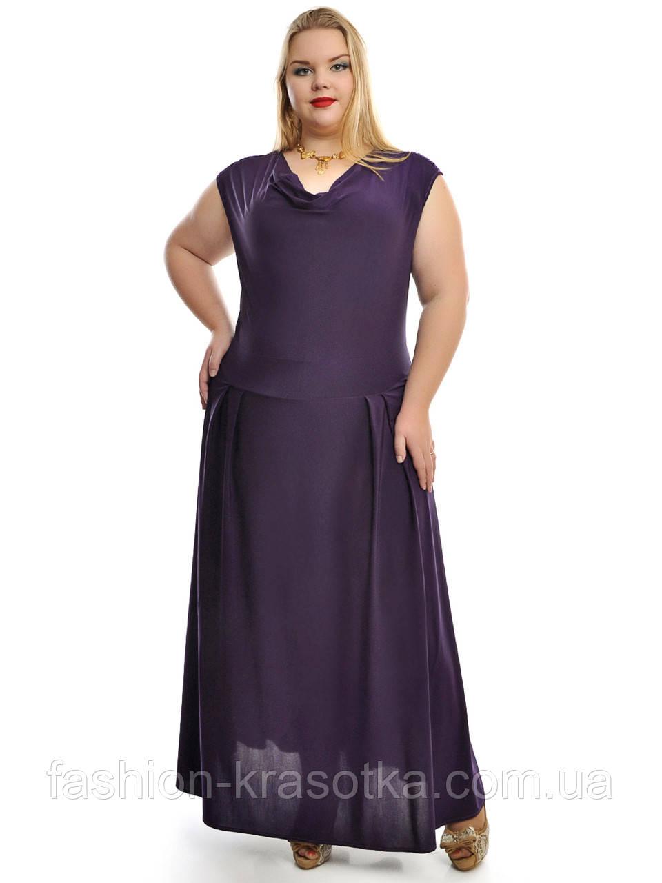 Платье в пол ,чуть спущенный рукав и на плече драпированная кокетка ,модель ДК 652