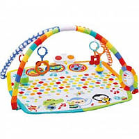 Fisher-Price Музыкальный коврик Оркестр Babys Bandstand Gym