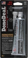 DoneDeal DD 6733 Термостойкий силиконовый герметик серый 85г