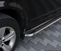 Пороги боковые Volkswagen Sharan 1995-2010 /Ø50,тип С2