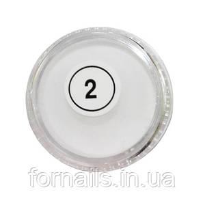 Акриловая пудра My Nail №2 (белая)