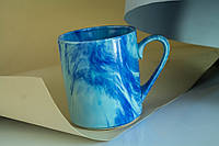 Чашка офиска Радуга, синяя