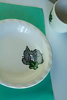 Тарелка Панда с клевером