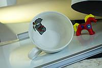 Чашка керамическая Снежка, деколь