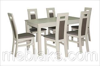 """Стол для гостинной деревянный раскладной """"Модерн"""" 140(+40)х80х75 см Fusion Furniture, фото 3"""
