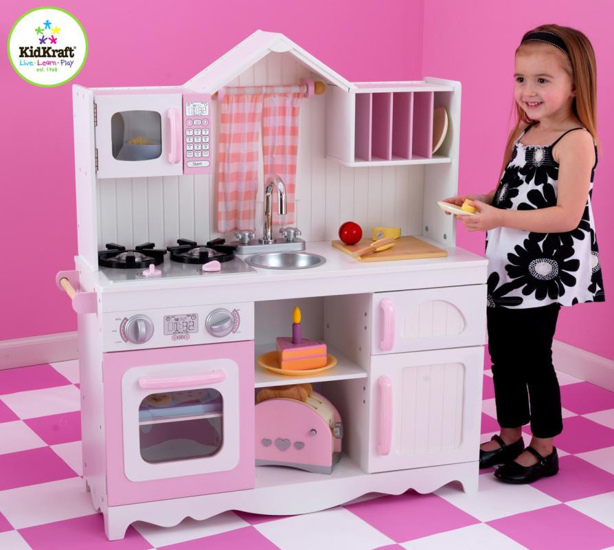 Игровая кухня KidKraft Modern Country Kitchen 53222