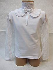Блуза нарядная с гипюром  6 лет