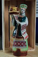 Штоф керамический Девушка с караваем