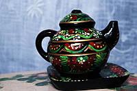 Чайничек сувенирный, росписной