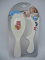 Щетка и гребешок для новорожденных
