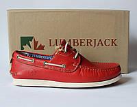 Шикарные кожаные туфли-топсайдеры Lumberjack, Италия-Оригинал, фото 1
