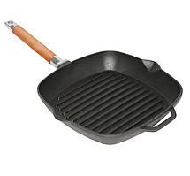Сковорода -гриль чавунна 24см Біол 10241