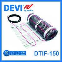 Нагревательный мат DEVI с тефлоновой изоляцией двухжильный 1,5 м.кв.