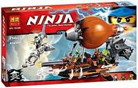 Конструктор Ninja Bela 10448 Пиратский Дирижабль (аналог LEGO Ninjago 70603) YNA /0-11
