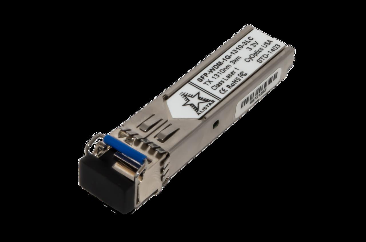 Оптический модуль SFP WDM 1G - 3км LC - TX1310nm/RX1550nm
