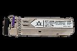 Оптический модуль SFP WDM 1G - 80км LC - TX1490nm/RX1550nm с DDM  , фото 2
