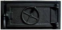 Чугунная зольная дверца - VVK 33x16 см-30x12см