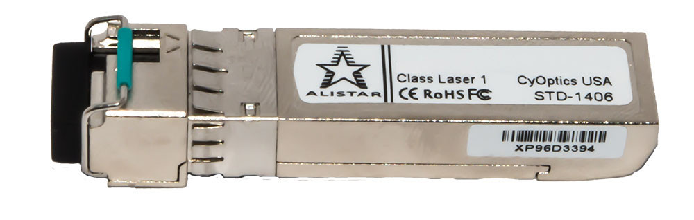 Оптический модуль SFP+ 2SM 10G - 80км LC - TX1550nm