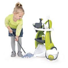 Smoby Игровой набор Тележка для уборки с Пылесосом Rowenta 24406