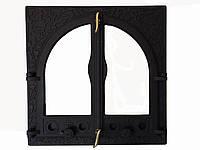 Чугунная каминная дверца - VVK 56x54,5 см-45x45см