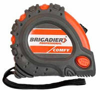 Рулетка Brigadier Professional Comfy 5 м х 25 мм (62-077)