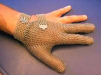 Кольчужная перчатка 3 палая Niroflex 2000