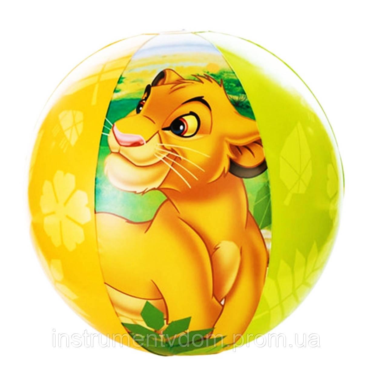 """Надувной мяч INTEX 58052 """"Король лев"""" (61 см)"""