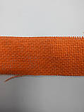 Флористична сітка натуральна помаранчева, фото 2