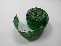 Сетка флористическая натуральная зеленая