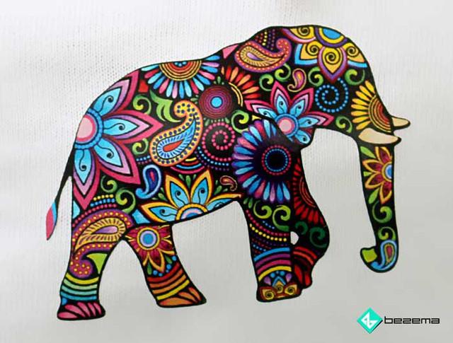Слон: купить термоаппликацию
