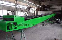 Конвейер передвижной наклонный 12м В650 шеврон 20мм