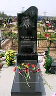 """Памятник гранитный на кладбище ординарный """"Сияние"""""""