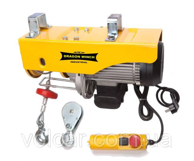 Тельфер (лебедка  электрическая) Dragon Winch 400/800 230V