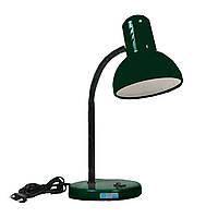 Лампа настольная «Изумруд» (темно-зеленый глянцевый лак)