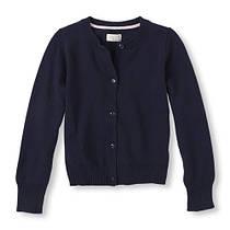 Школьная кофта тёмно-синяя на девочку 5-6-7-8-10-12-14 лет The Children`s Place (США)