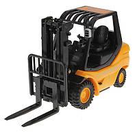 Машинка на радиоуправлении автопогрузчик Forklift оранжевый (машинки на пульте управления)