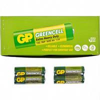 Батарейка GP Greencell пальчиковая 15G-S2 солевая R6P AA