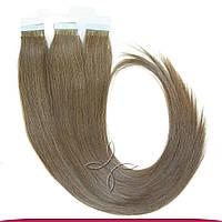 Натуральные Славянские Волосы на Лентах 60 см 100 грамм, Шоколад №05