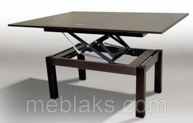 """Стол-трансформер журнальный """"Флай"""" 92х60,5(121)х50(75) см. Fusion Furniture"""