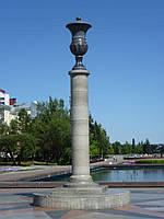 Свитильники из гранита, столбы фонарные гранитные