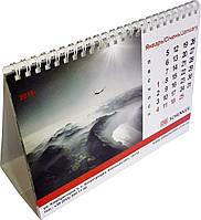 Настольный перекидной календарь-домик