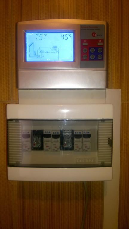 Контроллер и автоматика управляют системой и берегут её от повреждений.