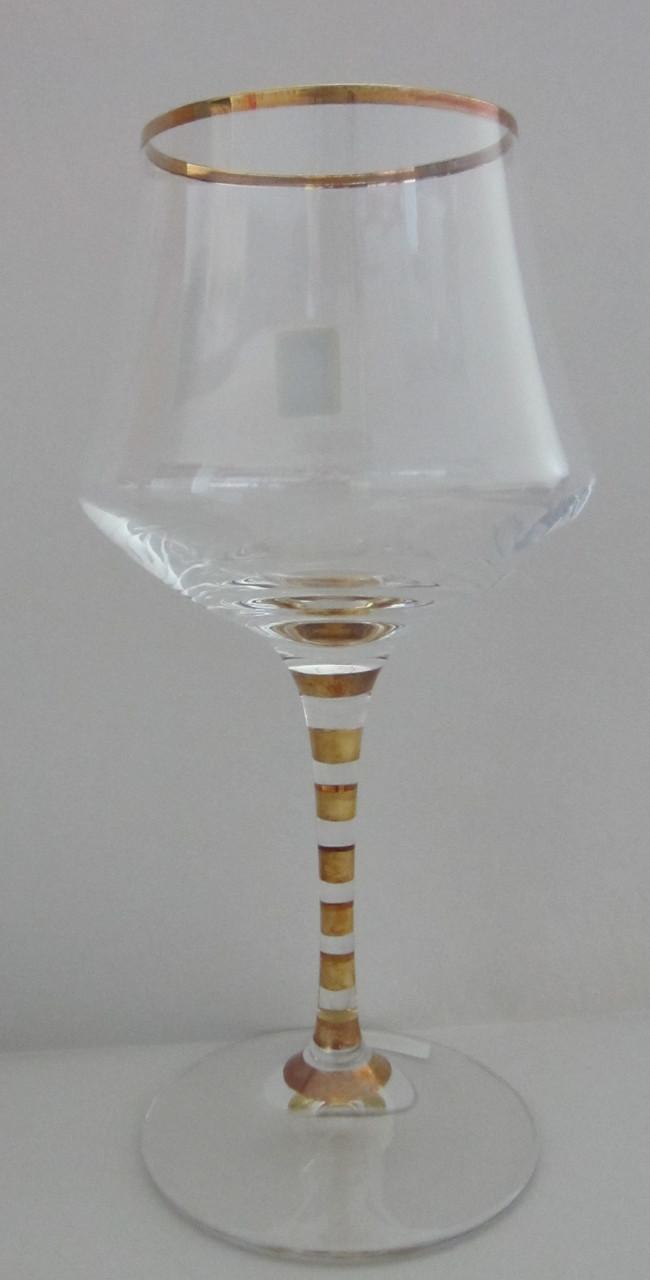 Набор бокалов для воды Alter с золотом