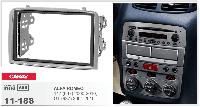 2-DIN переходная рамка ALFA ROMEO 147 (937) 2000-2010; GT (937) 2004-2010, CARAV 11-188