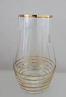 Набор стаканов для сока Alter с золотом
