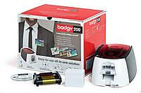 Карт принтер Badgy200 (в комплекте с расходными материалами)